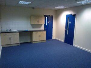 office building flooring