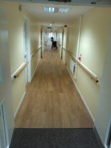 Willow Park Housing flooring